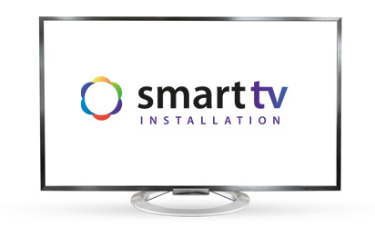 TV mounting and cable installation